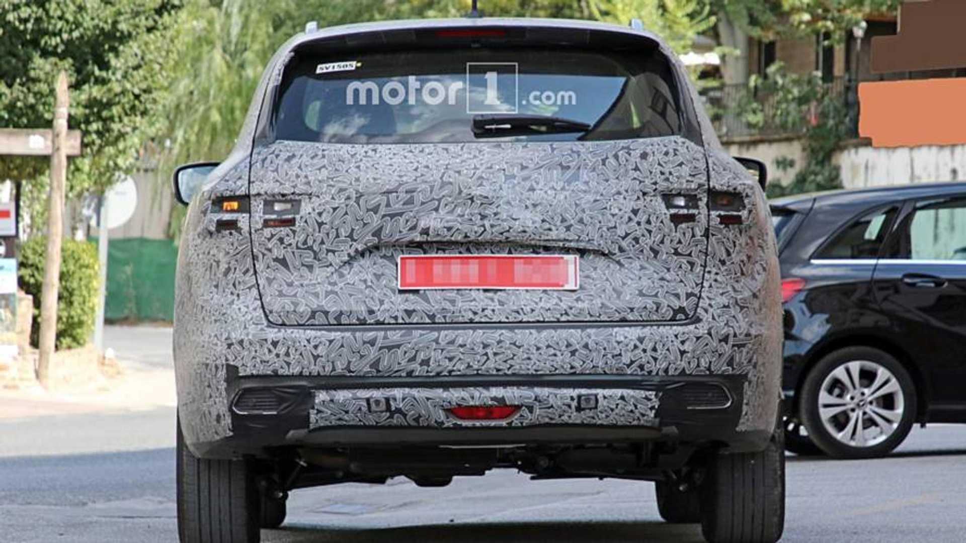 2020 - [Renault] Koleos restylé Renault-koleos-facelift-spy-photo
