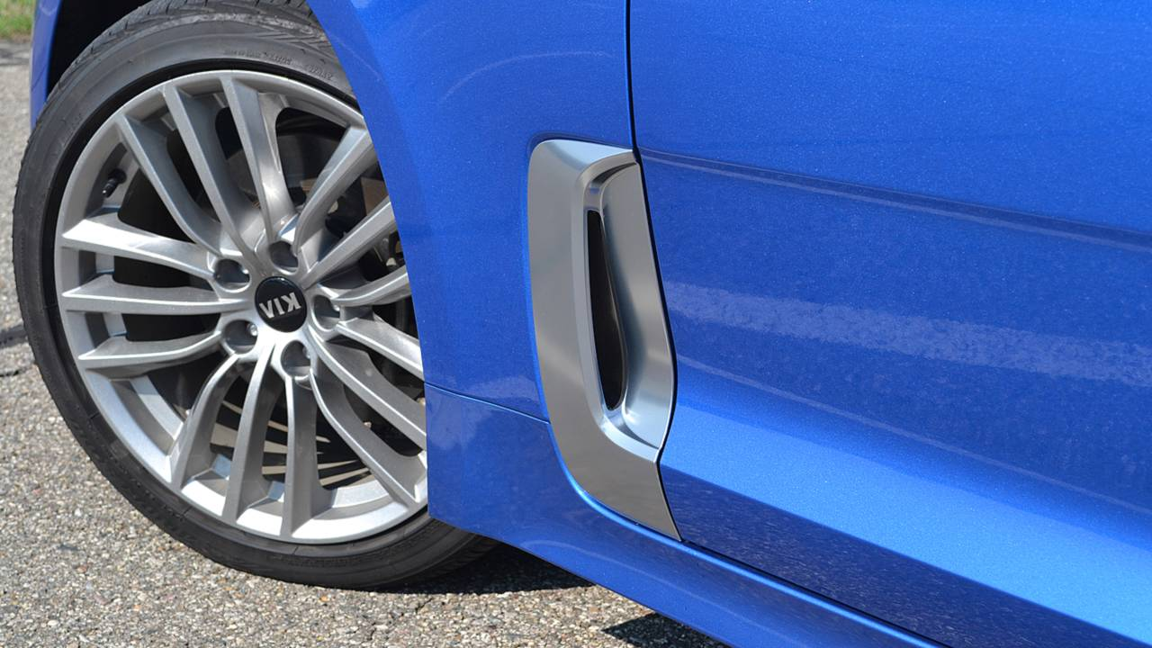 10. Functional side vents