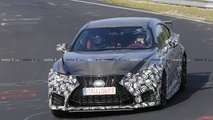 Lexus RC F GT spy photo
