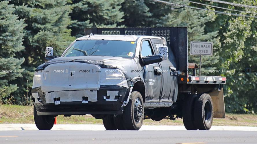 2020 Ram HD Pickup Spied Inside And Out