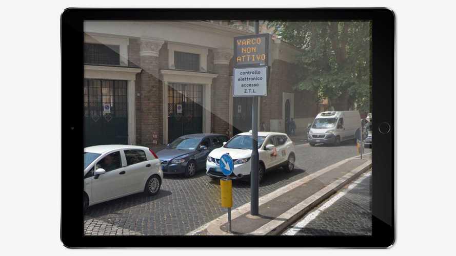 ZTL, a Roma chi copre la targa rischia 3 anni di carcere