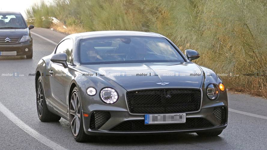 Bentley Continental Gt Speed Possibly Spied For The First Time