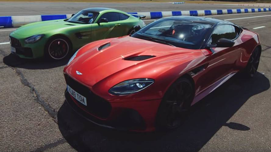 Can Mercedes-AMG GT R Beat Aston Martin DBS Superleggera In A Race