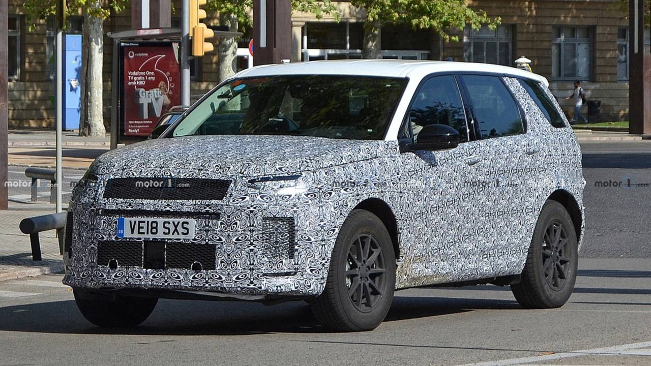 Flagra: Land Rover Discovery Sport facelift