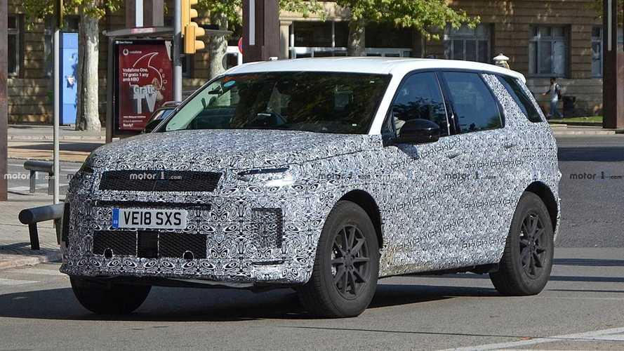 Flagra: Land Rover Discovery Sport será reestilizado em breve