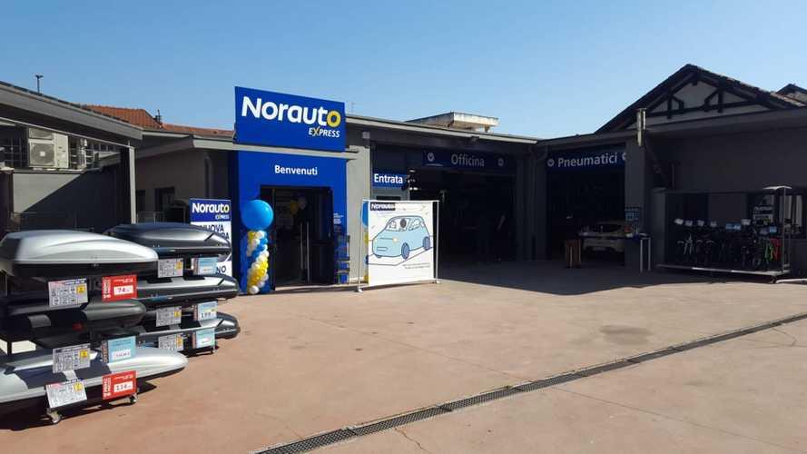 Norauto Express, ecco il negozio