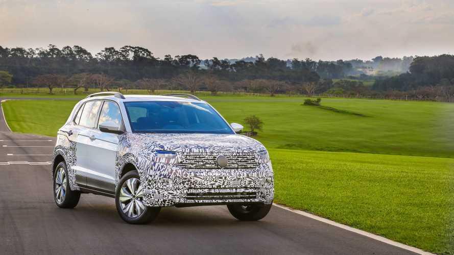 Volkswagen T-Cross será vendido com motor 1.6 na Argentina