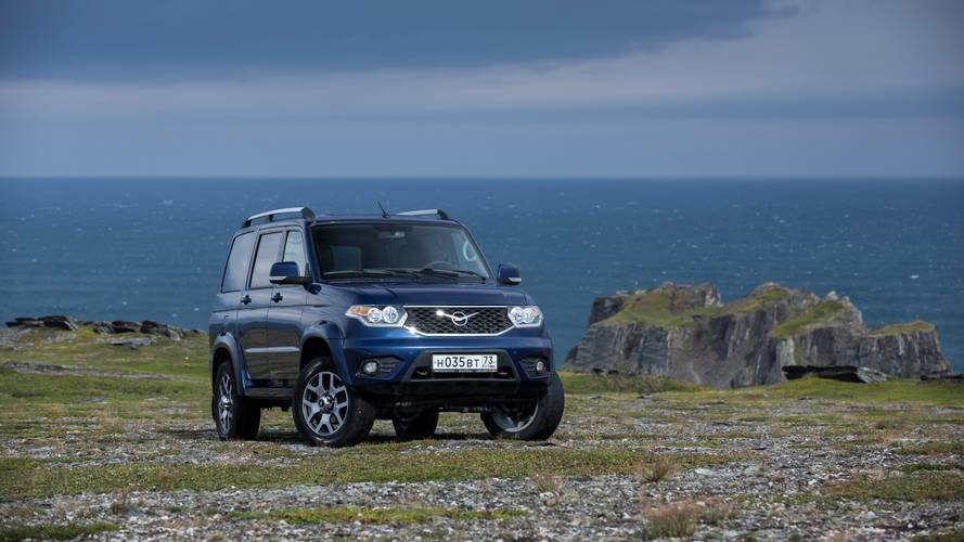 Test: UAZ Patriot (2019)