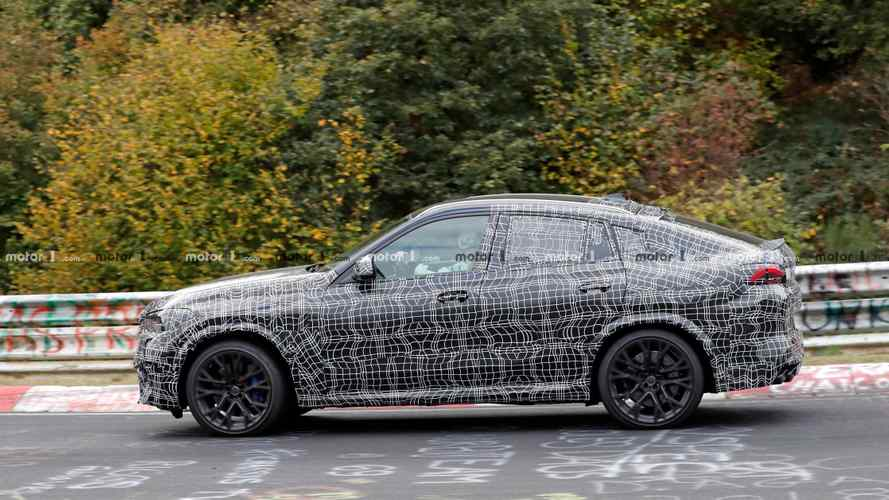 New BMW X6 M spied on a fall colour tour at the Nürburgring