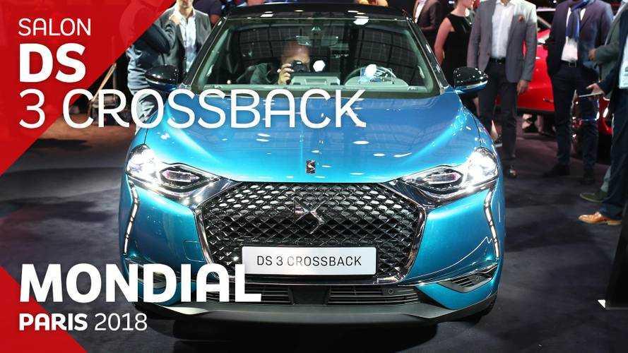 VIDÉO - Le DS 3 Crossback en direct du Mondial 2018