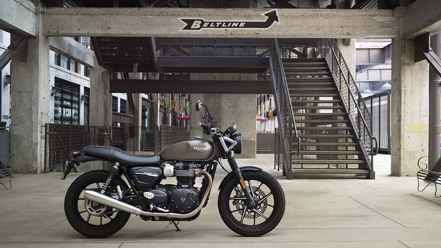 2019 Triumph Street Twin and Street Scrambler Get a Boost