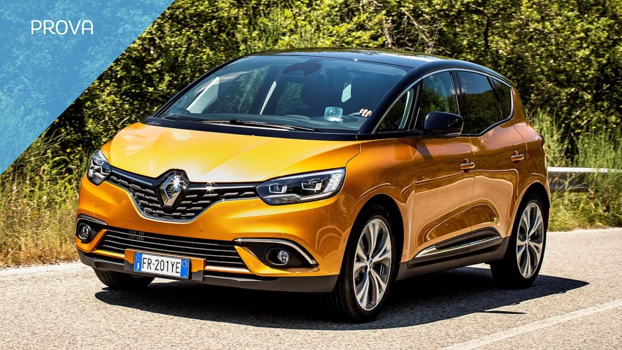 Renault Scenic 1.3 TCe, la prova