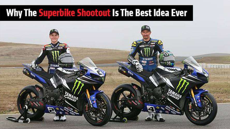 Why Superbike Shootout Is The Best Idea Ever
