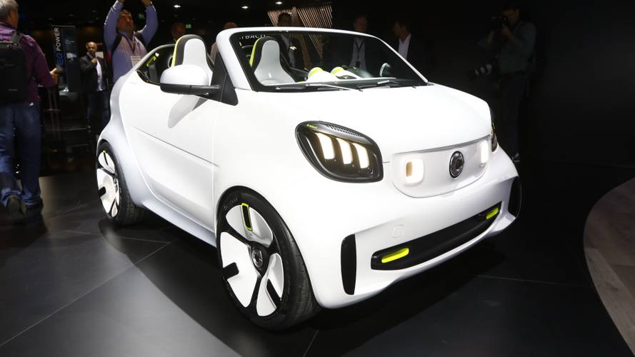 Smart Forease tiny speedster concept to debut in Paris