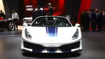 Ferrari 488 Pista Spider at the Paris Motor Show
