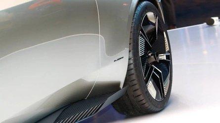 Peugeot e-Legend at the Paris Motor Show