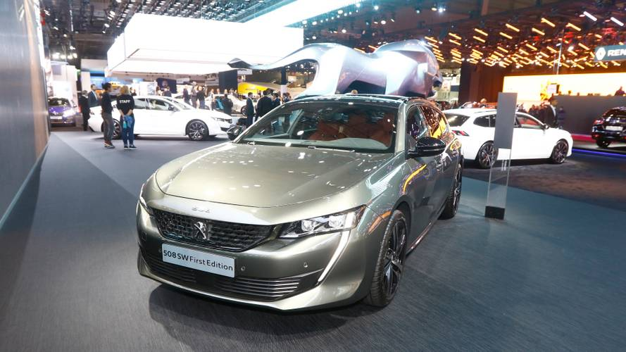 Peugeot 508 SW First Edition at the Paris Motor Show