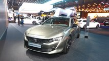 Peugeot 508 SW First Edition in Paris