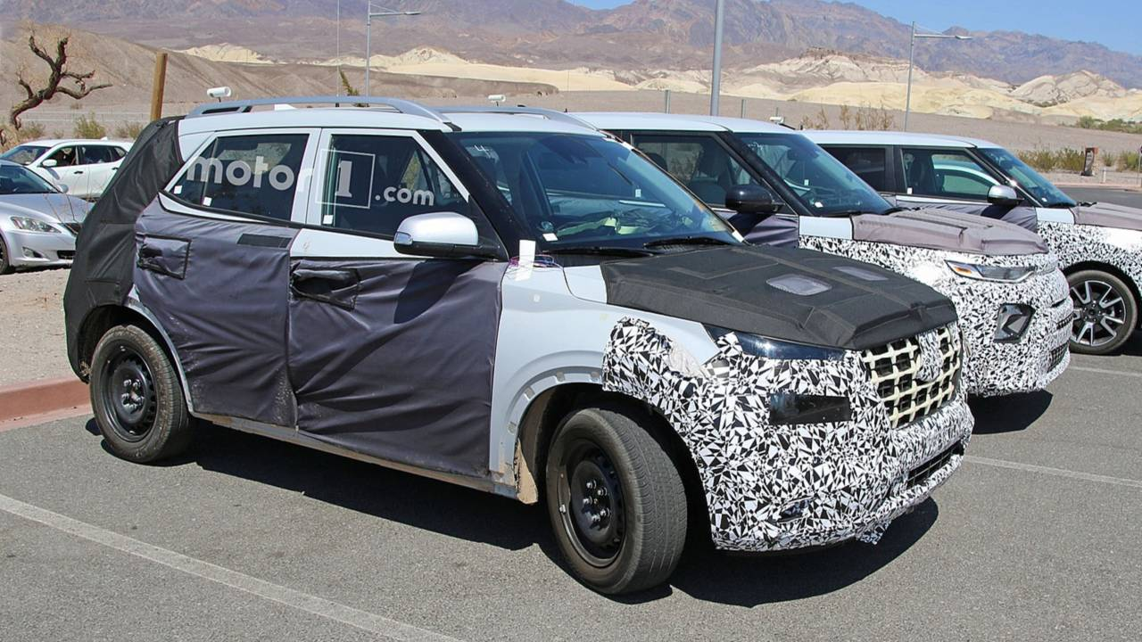 Gizemli Hyundai SUV'si Casus Fotoğraflar