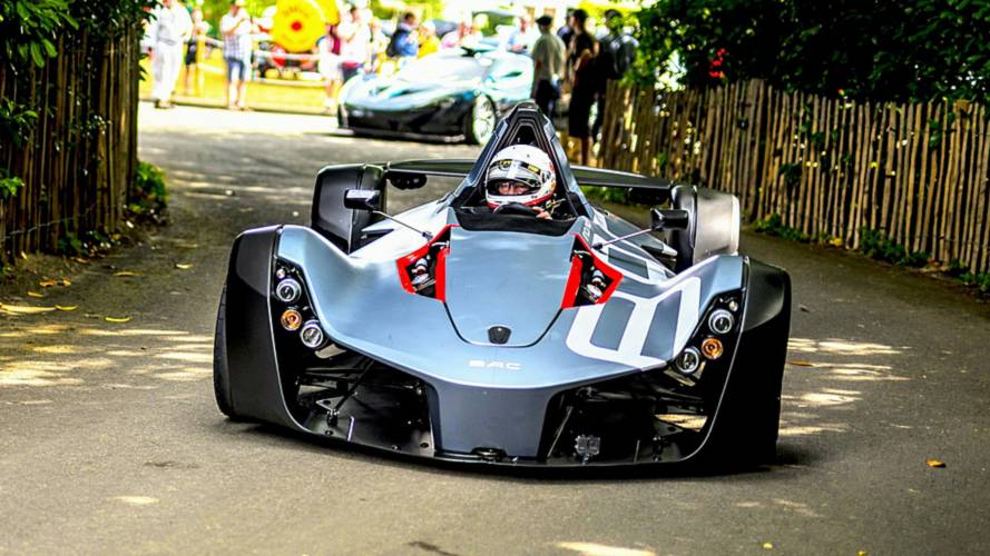 Watch The BAC Mono's Record-Breaking Goodwood Hill Climb