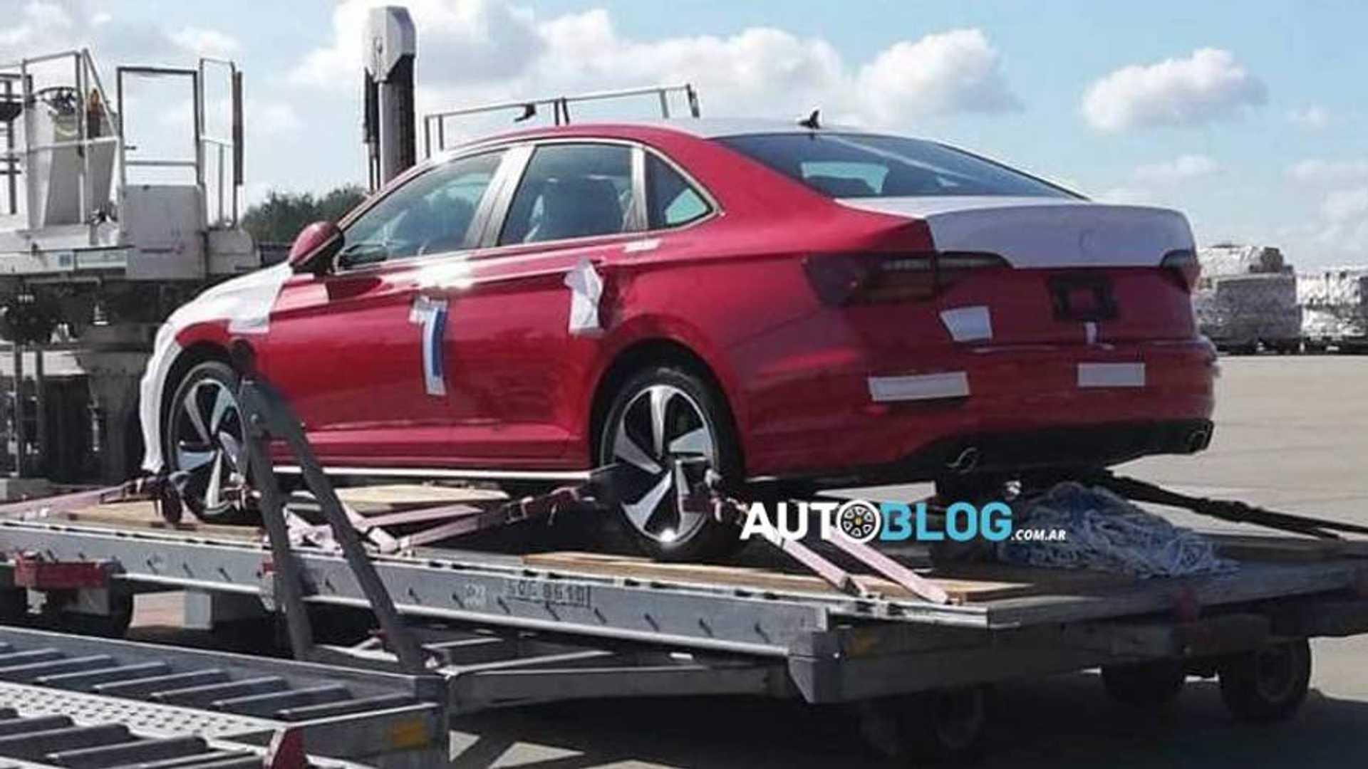 New Volkswagen Jetta Gli 2 0 Turbo Spied Getting Ready For