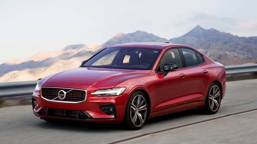 Volvo's new S60 available to lease for less than £300 per month