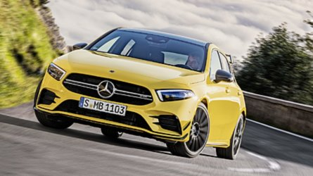 Mercedes-AMG A35 4Matic officially revealed with 302 bhp