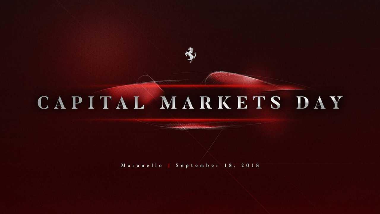 Piano Industriale Ferrari 2018-2022