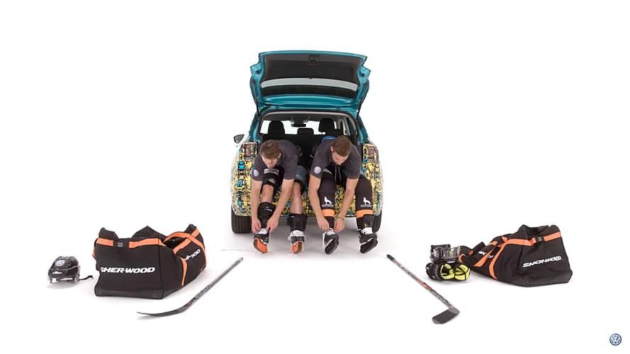 VW T-Cross hockey teaser screenshot