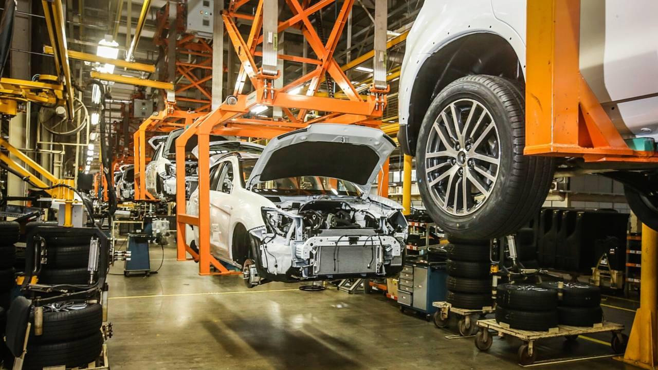 Fábrica Mitsubishi em Catalão (GO)