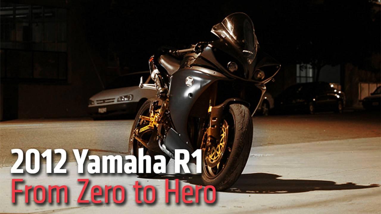 2012 Yamaha R1 - From Zero to Hero