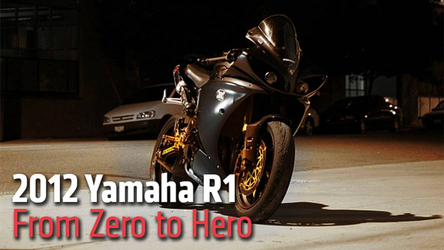 2012 Yamaha R1 - From Zero to Hero