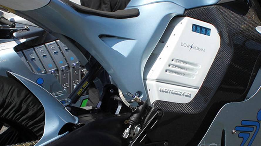 2011 MotoCzysz E1pc in action
