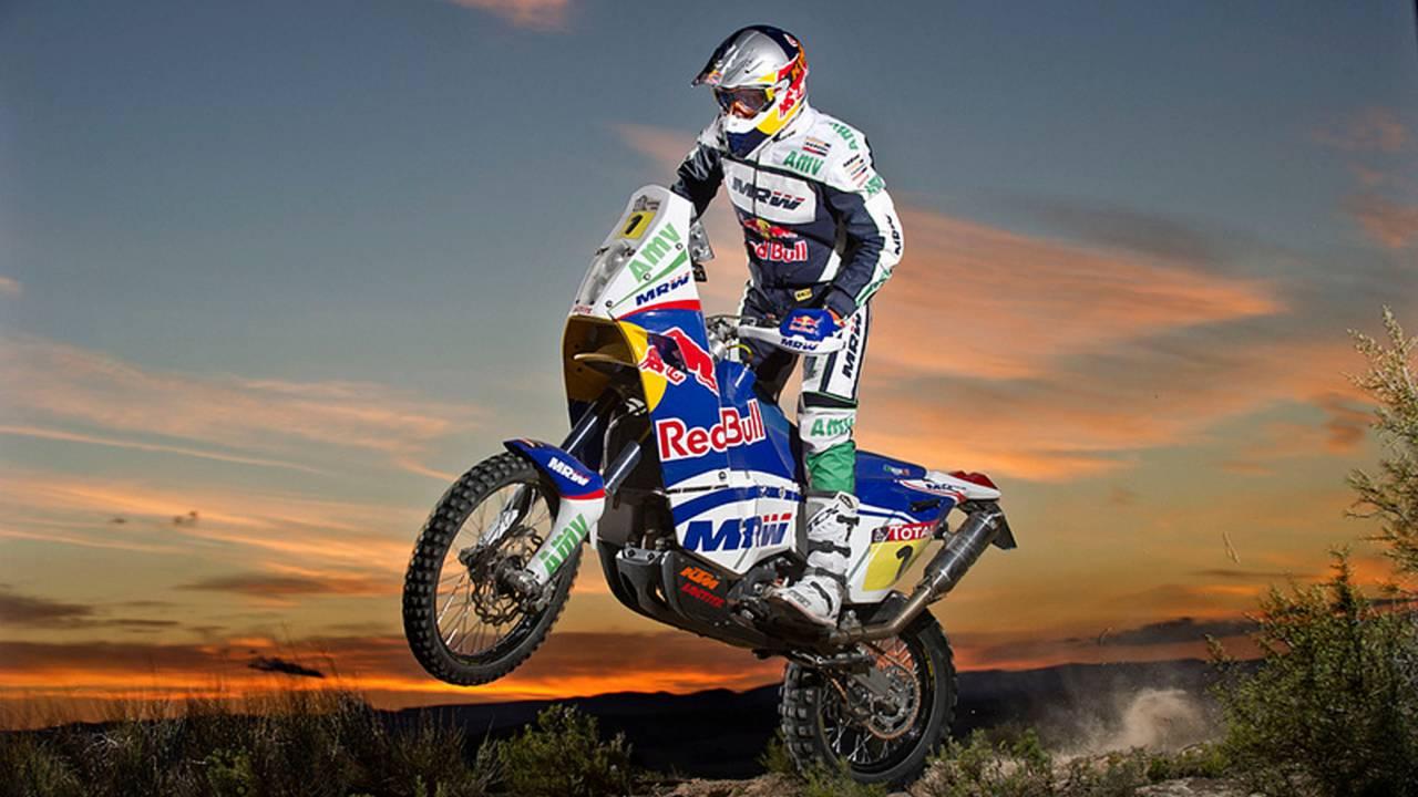 KTM Dakar victory in numbers