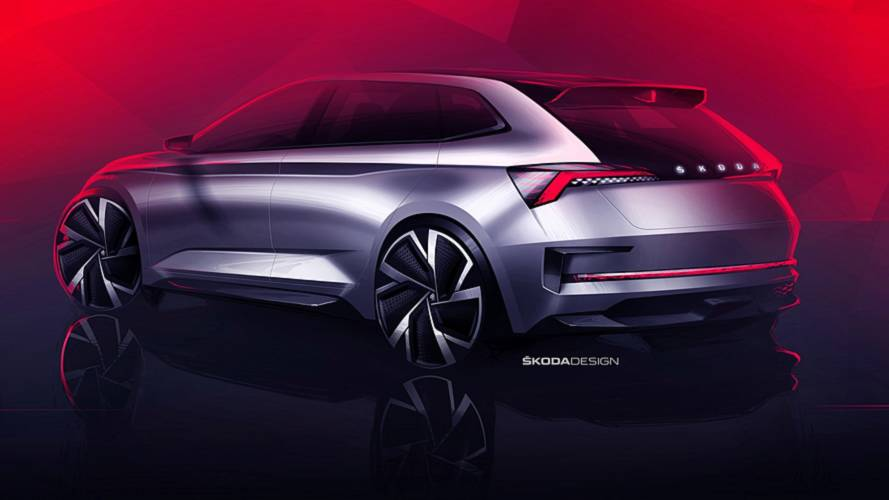 Skoda Vision RS teasers