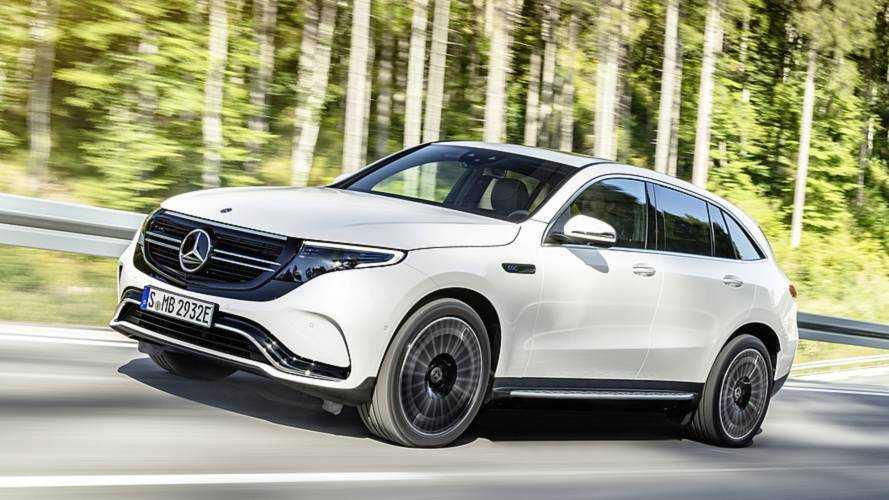 Mercedes-Benz EQC 2019, SUV eléctrico