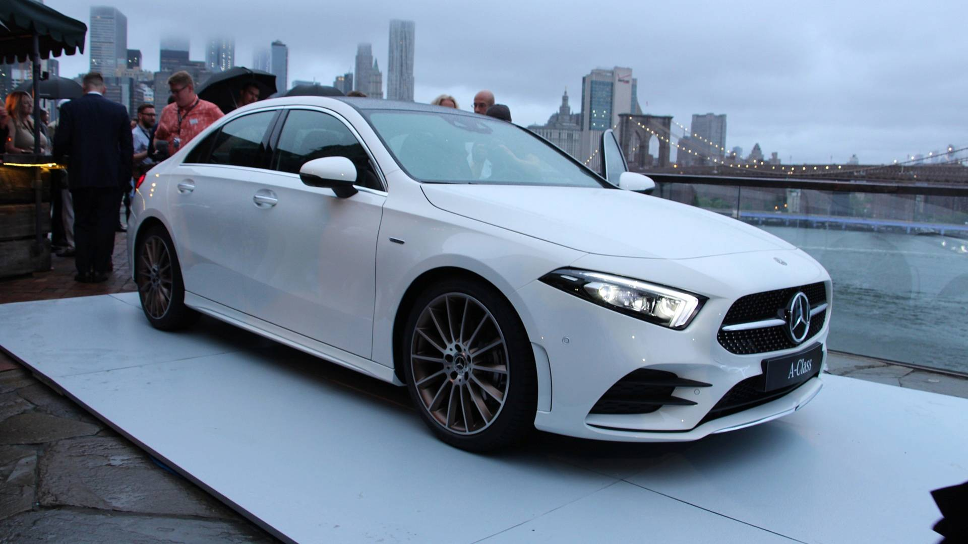 2019 Mercedes A Class Sedan Blends Sleek Styling With Lots Of Tech