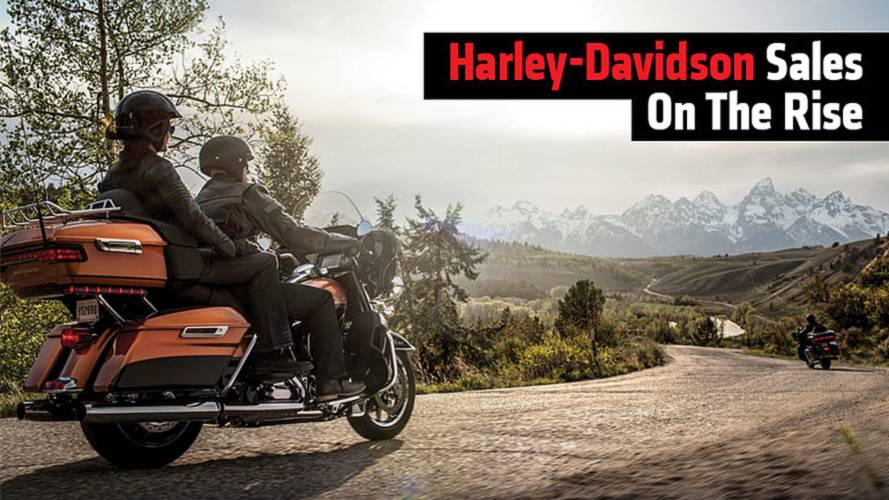 Harley-Davidson Sales On The Rise