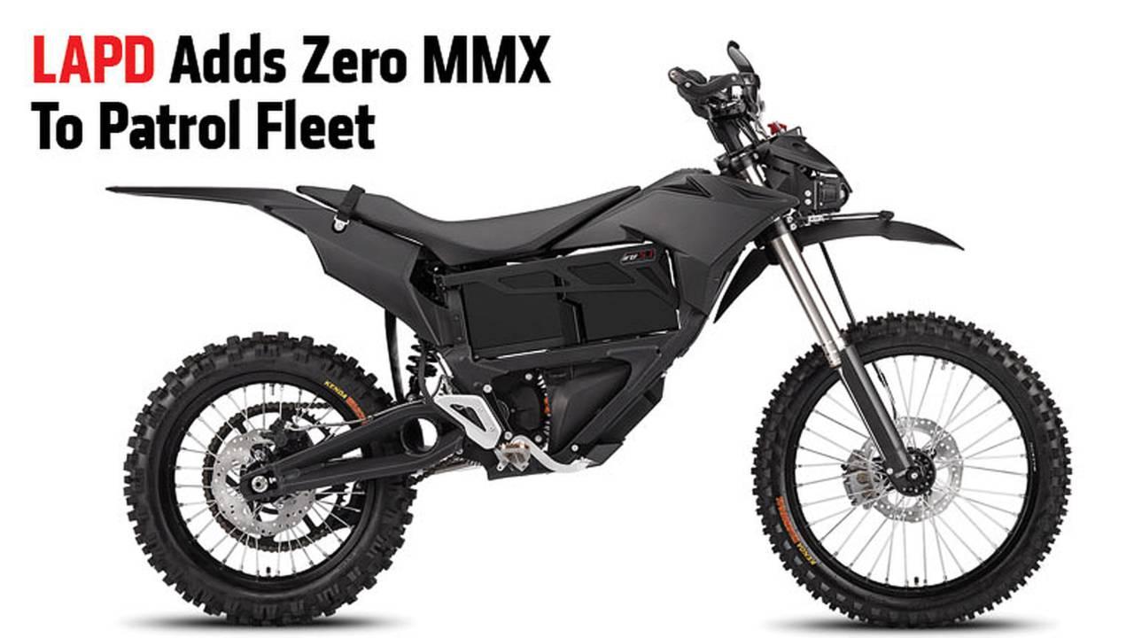 LAPD Adds Zero MMX To Patrol Fleet