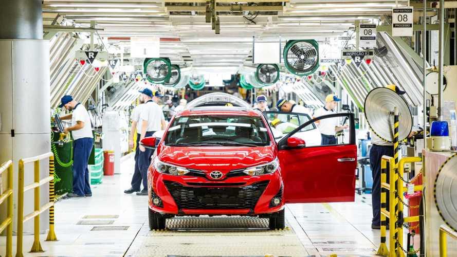 Toyota inicia terceiro turno de produção em Porto Feliz e Sorocaba