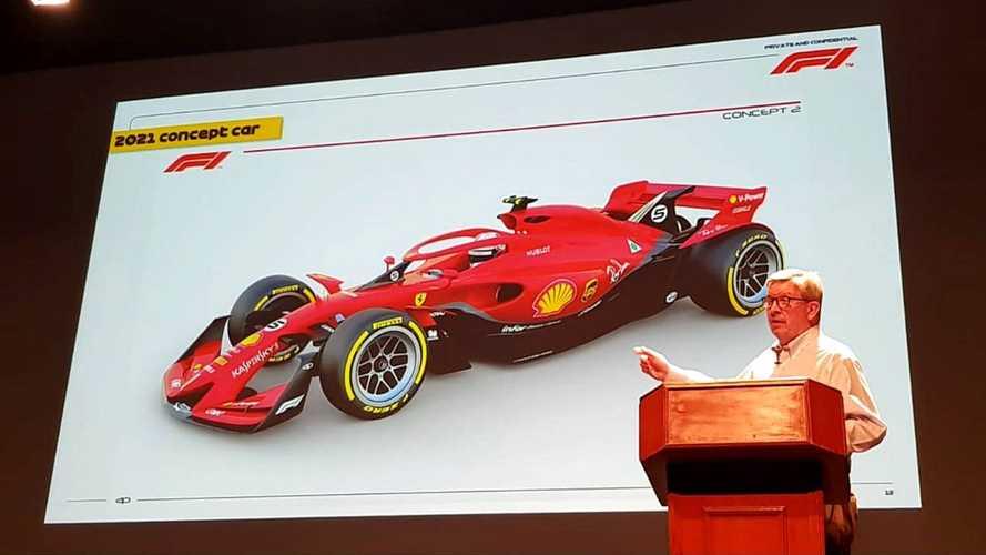 2021 Formula 1 concept car image leaked