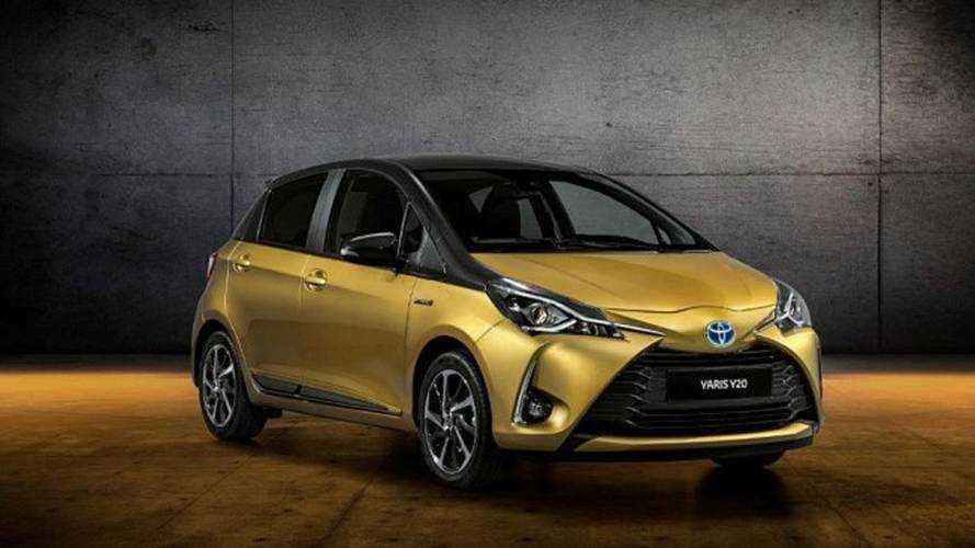 """Une série limitée """"20e anniversaire"""" pour la Toyota Yaris"""