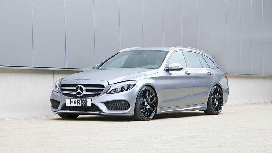 Spürbar sportlich: H&R-Gewindefedern für die Mercedes C-Klasse