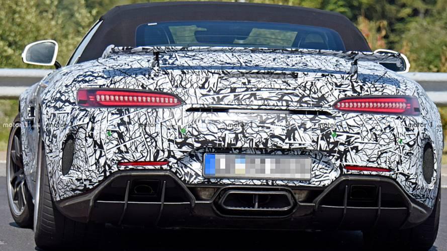 Mercedes-AMG GT-R Roadster Casus Fotoğraflar