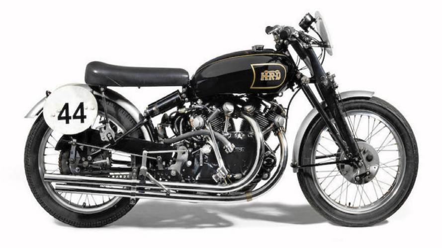 1949 Vincent Black Lightning Up For Auction in Alabama