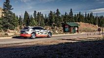 Audi e-tron 2019,  test en Pikes Peak