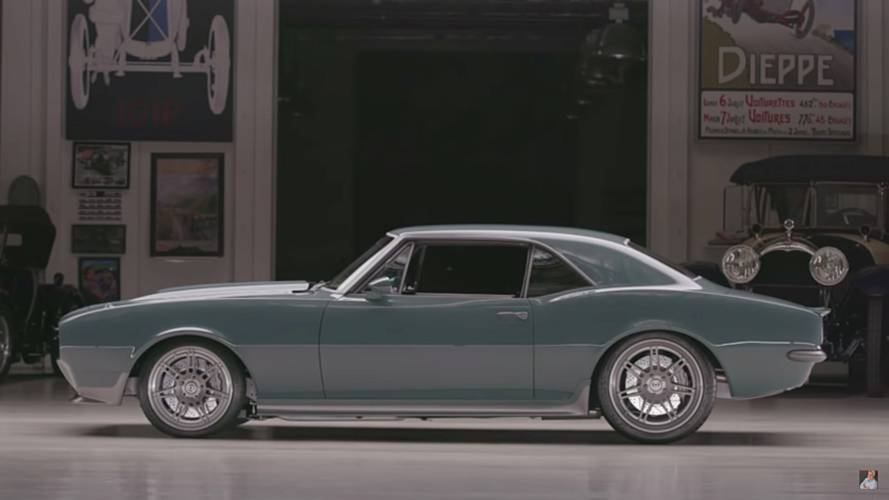 Captain America's Classic Camaro Looks Great At Jay Leno's Garage