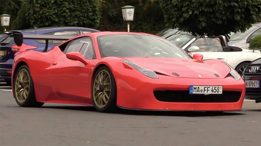 The World's Only Road-Legal Ferrari 458 Challenge Looks Docile