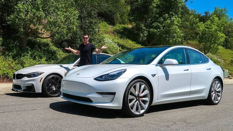 Tesla Model 3 Performance Deemed Winner Over BMW M3