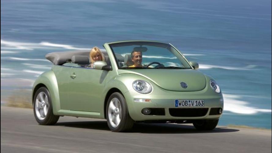 Volkswagen New Beetle Cabrio: scoperta d'occasione